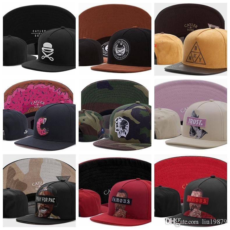 f359a6164 2019 Summer Cayler & Sons Baseball Caps BKNY The Munchies C FIRST DIVISION  Camo Skull Indians TRUST Skull Pray For Pac Famous Snapback Hats Baseball  Caps ...