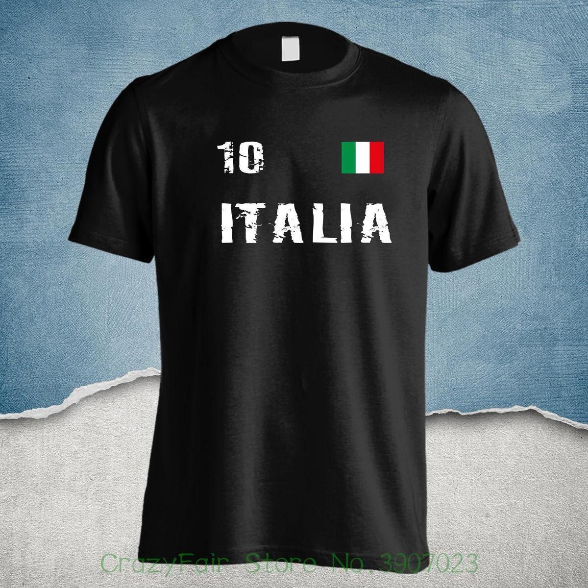 ff0e8bf3c5 Italia T Shirt Italien Squadra Azzurra Hochwertige Verarbeitung S 4xl Rom  Print Round Neck Man 10 T Shirts Cool Shirts Designs From Jie029
