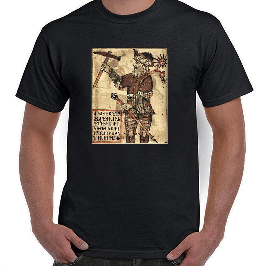 Thor with Hammer, Norse Mythology, Odin's Son, T-Shirt, All Sizes, Styles, NWT T Shirt Novelty Cool Tops Men'S Short Sleeve