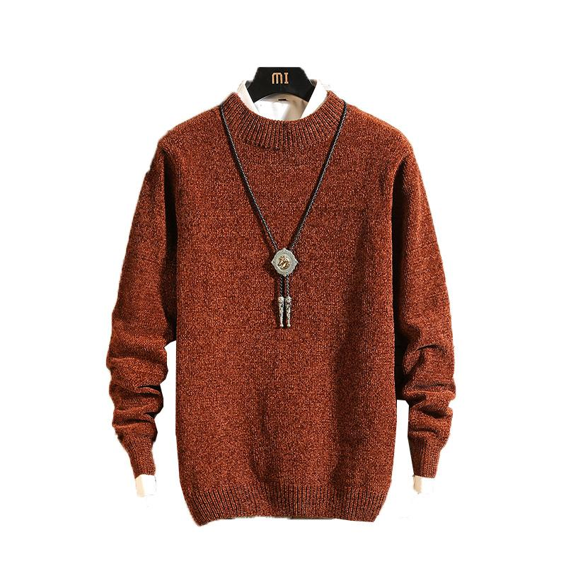 e3dec466d4569b 2019 2018 Winter Warm Cashmere Sweater Men O Neck Knitted Sweaters Slim Fit  Pullover Men Classic Knitwear Pull Homme Preppy Style From Crutchline, ...