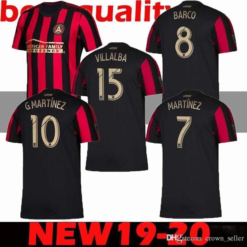 6762ef875f2 2019 New 2019 2020 MLS Atlanta United FC Soccer Jersey 19 20 GARZA JONES  VILLALBA MCCANN MARTINEZ ALMIRON Football Shirts Thailand Jerseys From  Crown seller ...