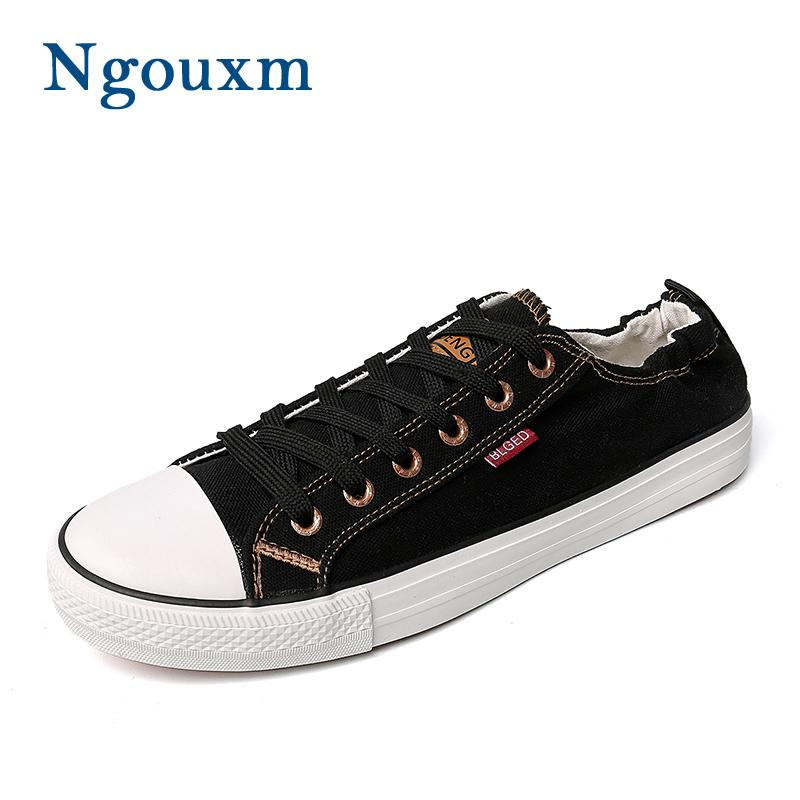 4fdd254ac8ea Ngouxm Canvas Sneakers Men Casual Shoes New Fashion Spring Autumn ...