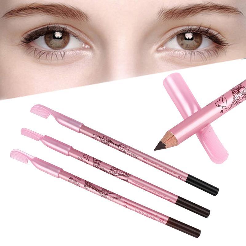 Eyebrow Pencil With Eyebrow Long Lasting Eye Brow Enhancer Eyeliner