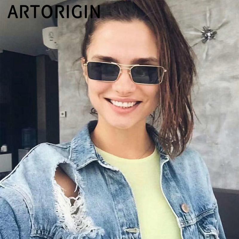 86a4fbb83cf37 Rectangle GiGi Hadid Sunglasses For Women 2019 Fashion Summer Oculos ...