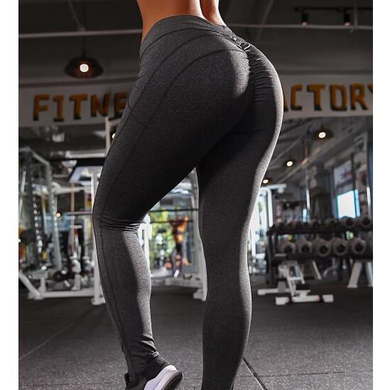 4e25677acc Women Yoga Sport Leggings Push Up Legging Fitness Tights Running ...