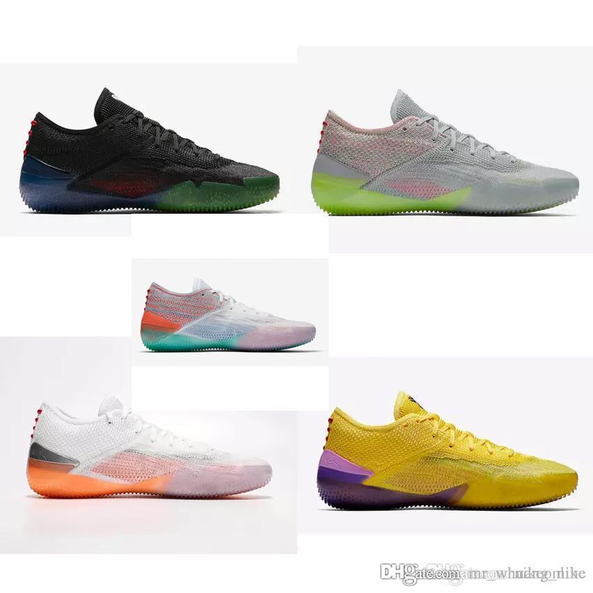 sale retailer a6b2d 4ae87 Scarpe da basket low cost uomo Kobe AD NXT 360 Multicolor Cool Grigio  Arancione KB 12 xii elite lows taglio air voli sneakers stivali in vendita
