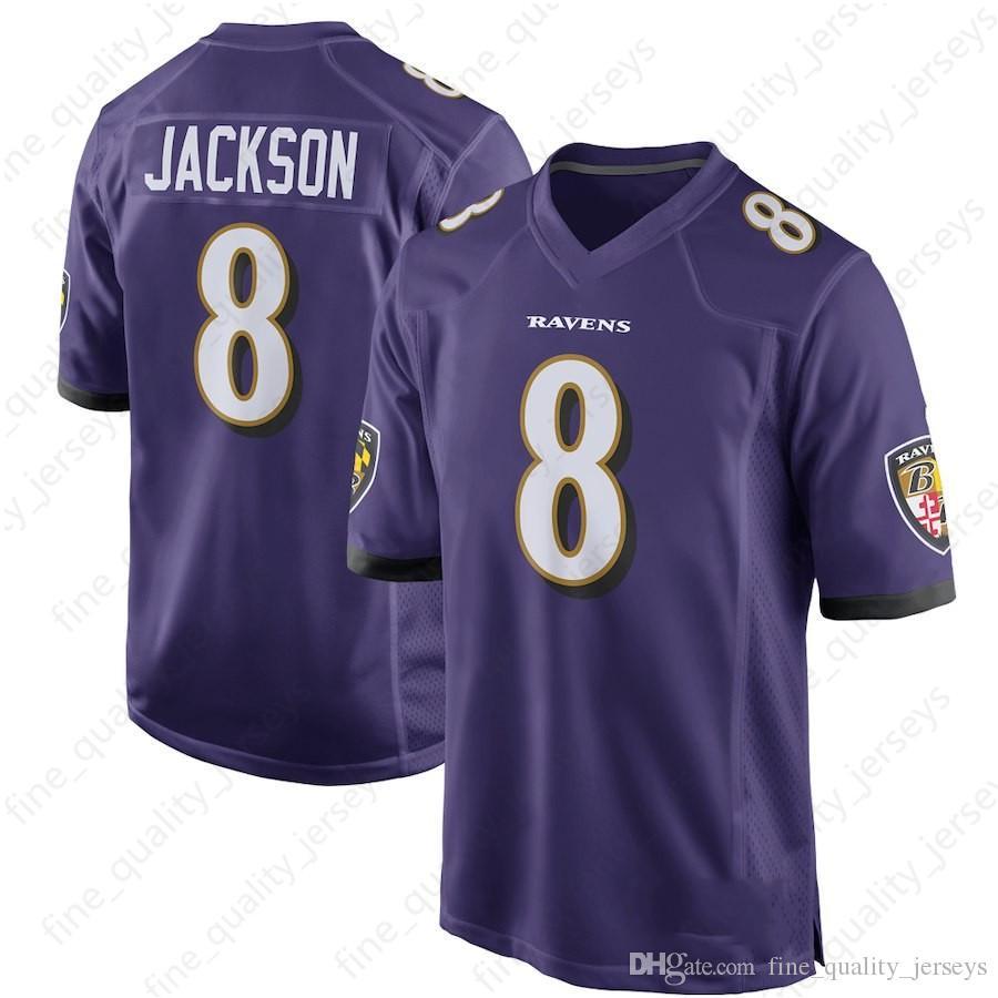 e7269c73b23 2019 8 Lamar Jackson Jersey Baltimore 9 Justin Tucker Ravens 32 Eric Weddle 55  Terrell Suggs 57 C.J. Mosley 5 Joe Flacco From Fine quality jerseys
