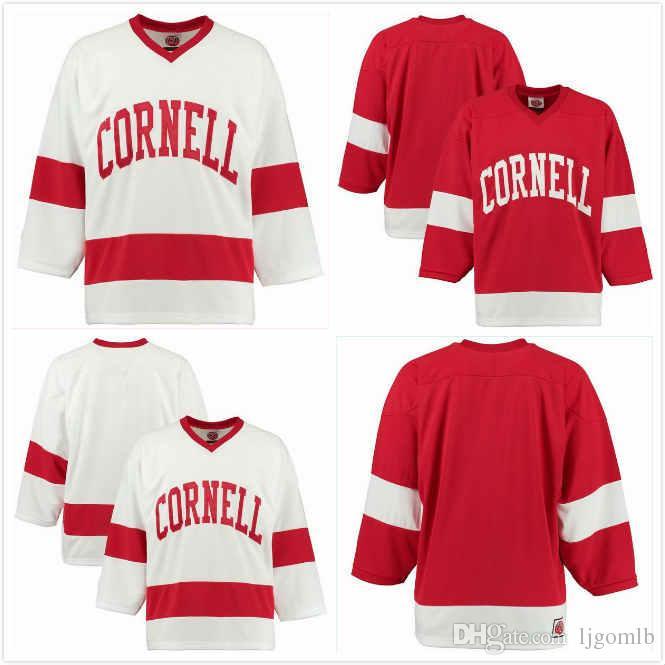 2019 Beau Starrett Jersey 10 Michael Regush 19 Mitch Vanderlaan 14 Joe  Leahy 4 Noah Bauld 9 Alex Green 6 NCAA Cornell Big Red Hockey Jerseys S 3X  From ... a46ae7d9e93
