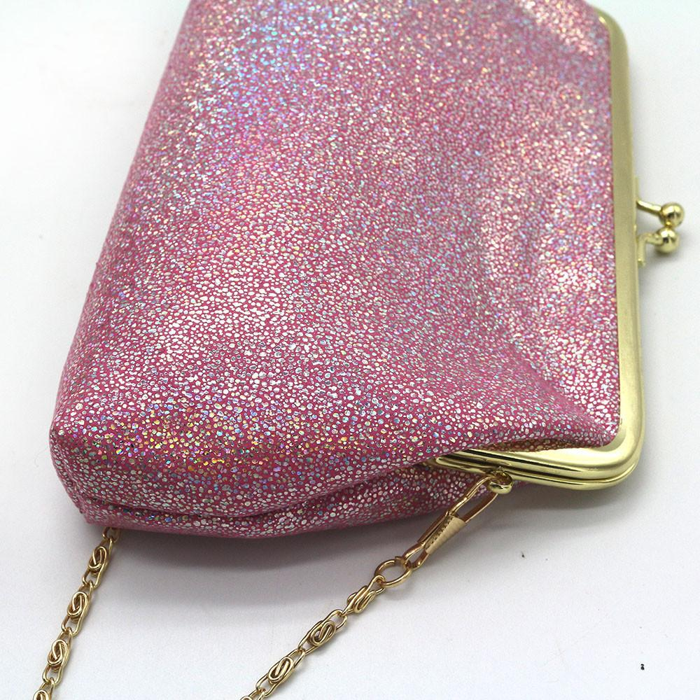 1xiniu Mujer Lady Shining Sparkling Small Wallet Purse Purse Party Clutch Bag