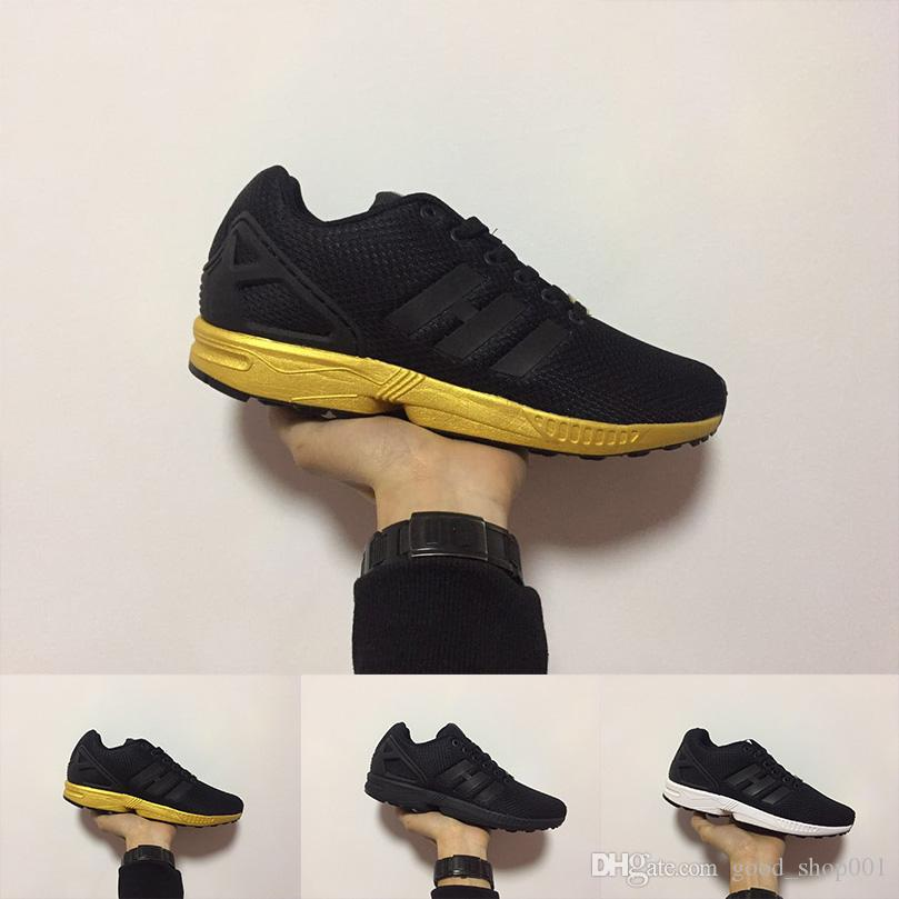 69ef0c61e62e3 2019 2018 New Arrival ZX FLUX Men Trainer Shoes Zx Flux Athletic Sport Shoe  Gold Black Cheap Sneakers Mujer Lovers Sapatos Femininos Size 36 45 From ...