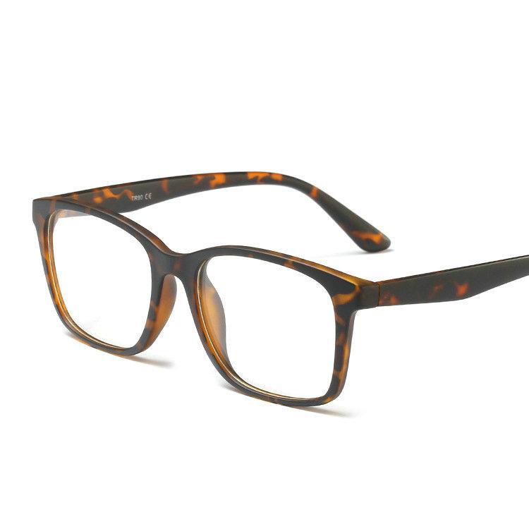 Compre 2019 Nova Moda Feminina Óculos De Armação Homens Preto Óculos De  Armação Quadrado Do Vintage Lente Clara Óculos Espetáculo Óptico FML De ... 487ab147e0