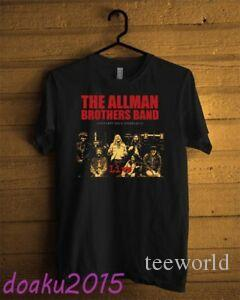 The Allman Brothers Band Legendary Radio T-shirt BlaFunny Men USA Size S - 2XL