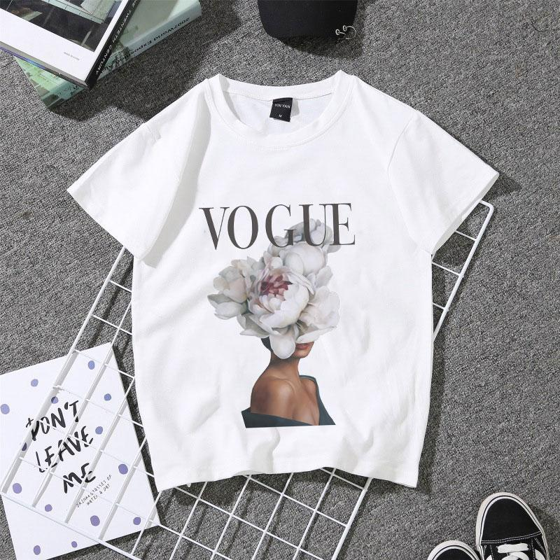 b05888891b Harajuku Aesthetic Tshirts Flowers Feather Print Sexy Short Sleeve Tops  Fashion Casual Tees Couple T Shirt Kawaii Women T Shirt Crazy T Shirts T  Shirt ...