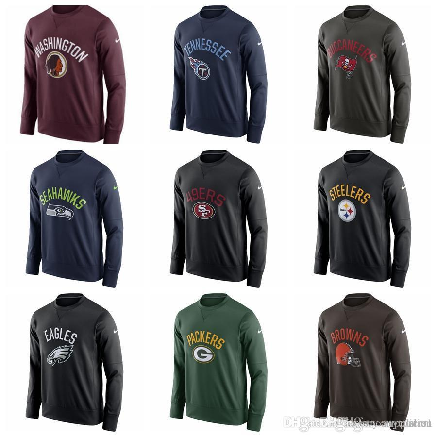 Mens Hoodie Philadelphia Eagles Pittsburgh Steelers 49ers Seahawks ... 16efb443e