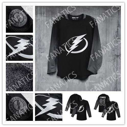 cheap for discount 32d8d 6d99f Men Women Kids Tampa Bay Lightning Third Jersey Alternate Nikita Kucherov  Steven Stamkos Andrei Vasilevskiy Brayden Point J.T. Miller