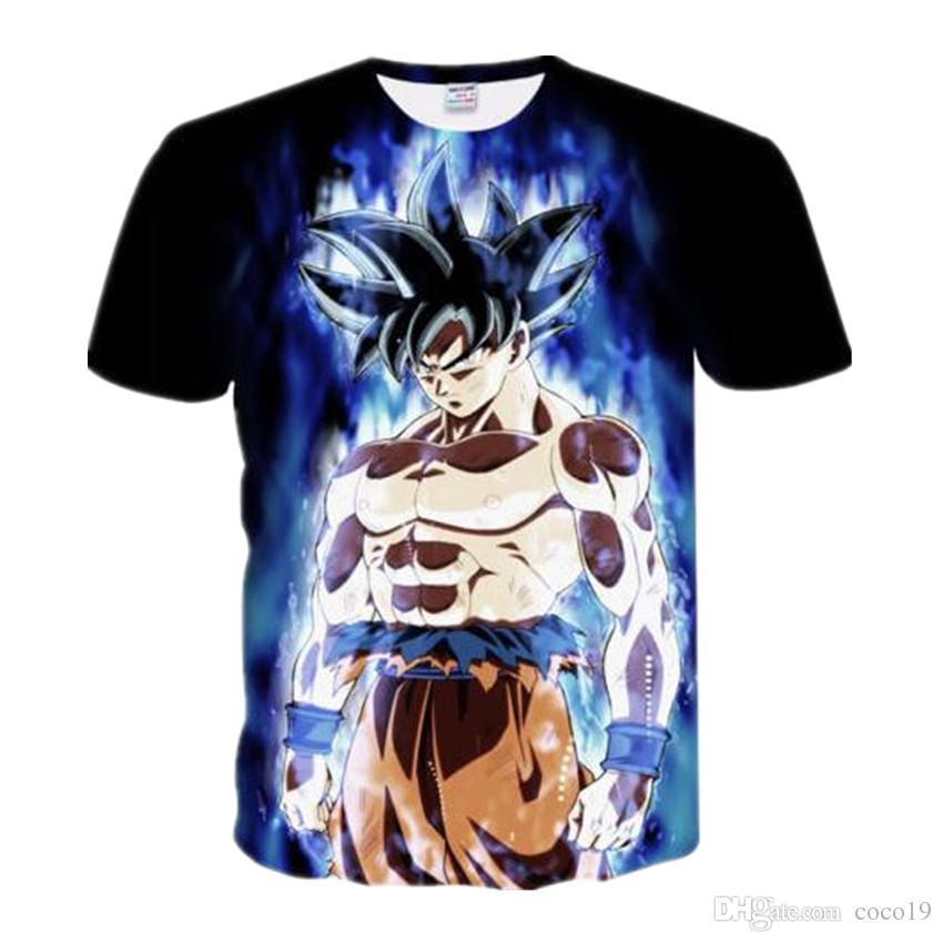 10dab9ca15c71 2019 Newest Dragon Ball Z 3D Print Funny T Shirts Design Super Saiyan Son  Goku Cartoon T Shirt Quick Dry Hip Hop Tops Clothing Tees Shirt On T Shirt  ...