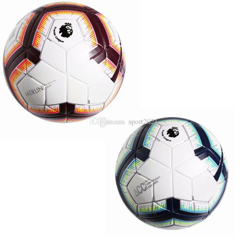 034c36f51d Compre AAA + 2018 19 Premier League Bolas De Futebol Tamanho PU 5 Bolas De Futebol  Antiderrapante Furar A Pele De Alta Qualidade Frete Grátis De Sport2021