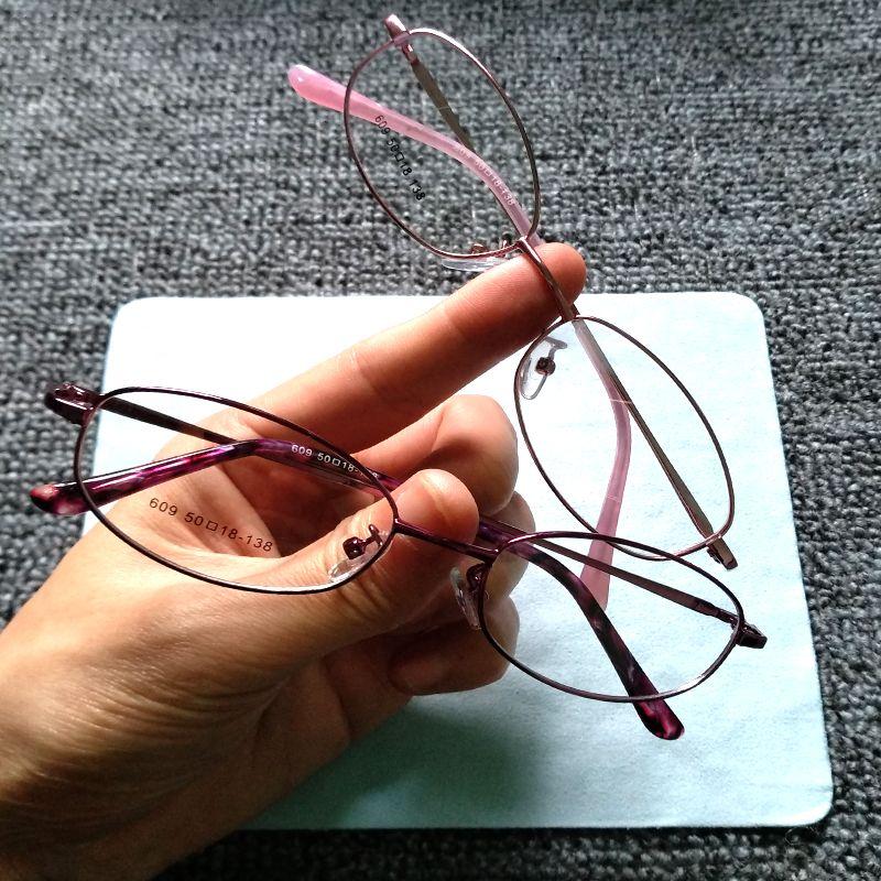 13b97fd6fc Vintage Style Women Popular Round Metal Clear Lens Glasses Frame ...