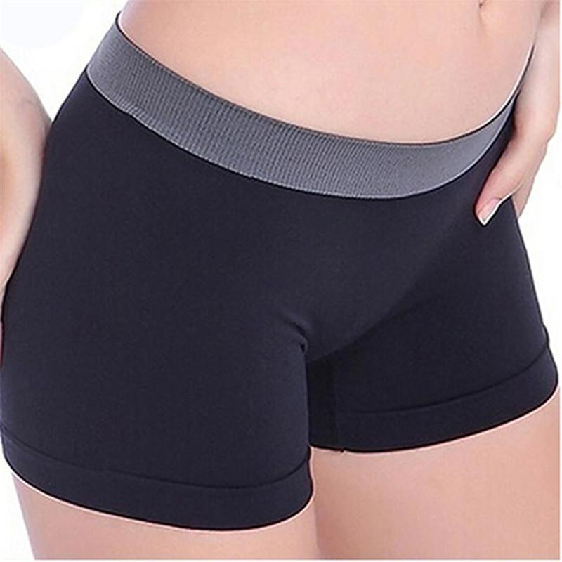Women's Fitness Sexy Sports Gym Workout Waistband Skinny Yoga Shorts Pants Women's Swimming Suit