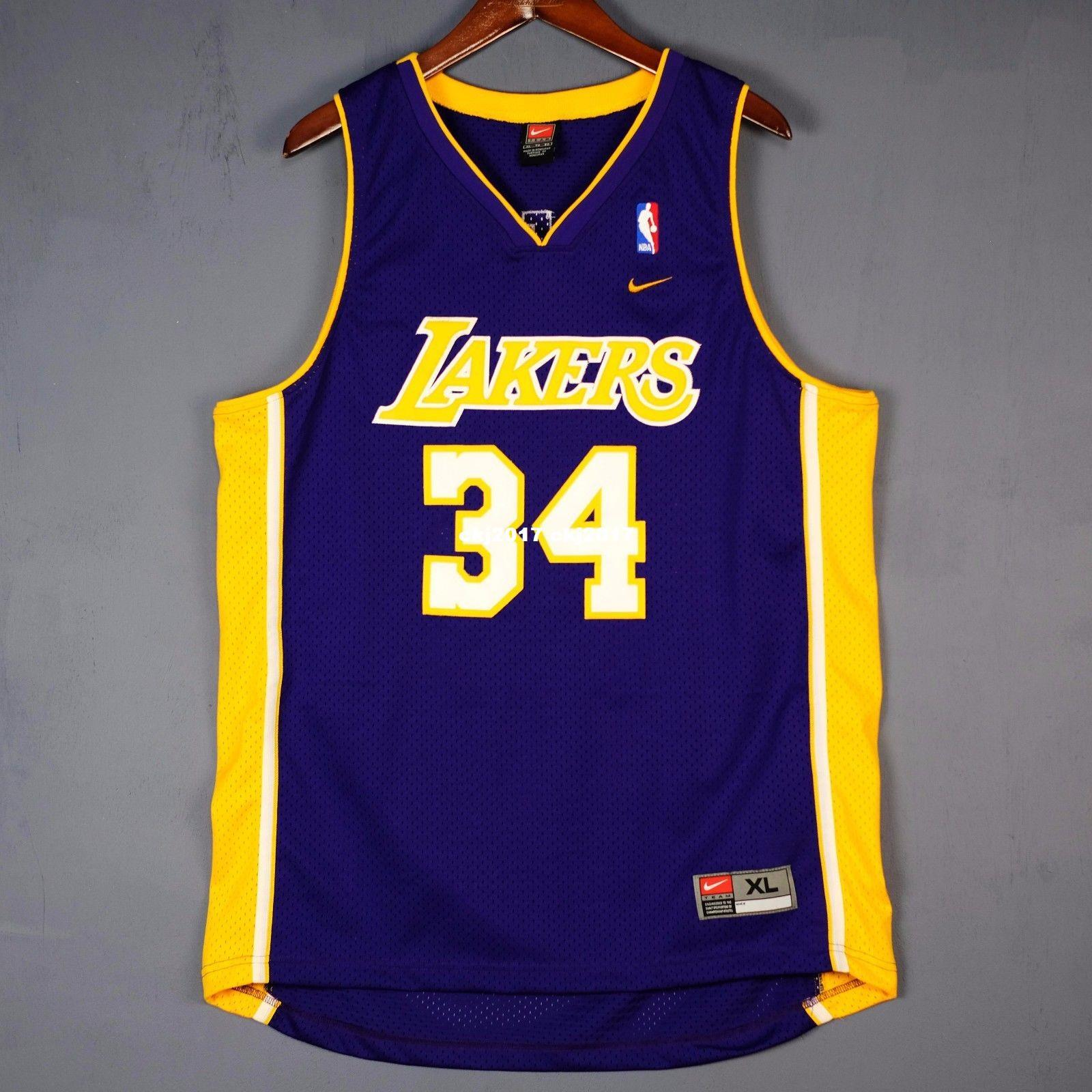 037432acf 100% Stitched  34 Shaquille O Neal wholesale Jersey Purple Mens Shaq Oneal  Mens Vest Size XS-6XL Stitched basketball Jerseys Ncaa