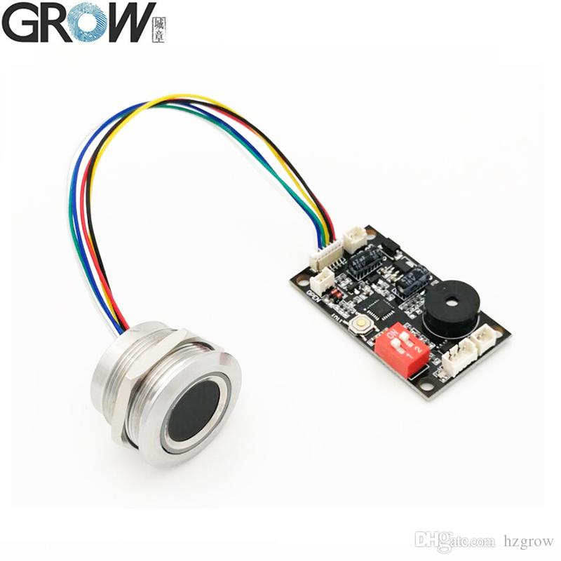 GROW K200-3.3+R503 Two-Color Ring Indicator Light Capacitive Fingerprint Access Control Board