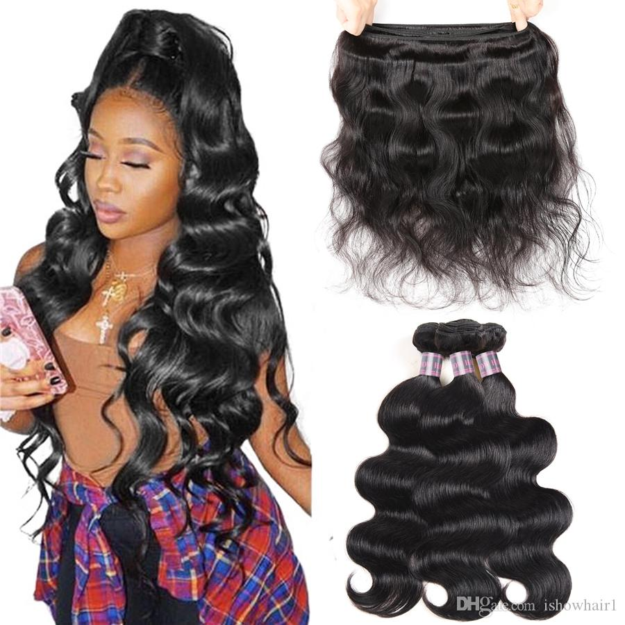 Indian Deep Loose Wave Brazilian Body Wave Hair Extensions Unprocessed Peruvian Virgin Human Hair Bundles Weft Deep Wave Water Kinky Curly