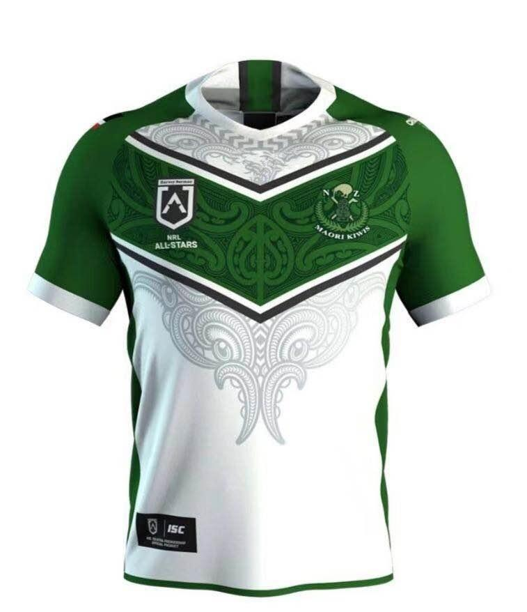 0c11aee36a8 New Zealand Maori All Stars 2019 Rugby Jerseys NRL National League Rugby  Shirt Nrl Jersey S-3xl Maori New Zealand Rugby Jerseys Online with   22.85 Piece on ...