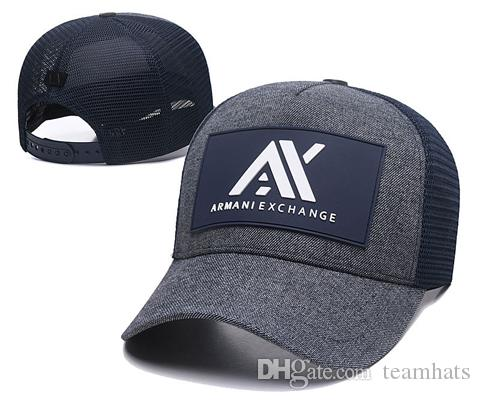 2019 Best Selling Baseball Cap Men Women Outdoor Designer Italy AX Cap  Adjustable Hip Hop Hats New Truck Cap Golf Hat Black White Blue Gray Cap  Hat From ... c753a2da356