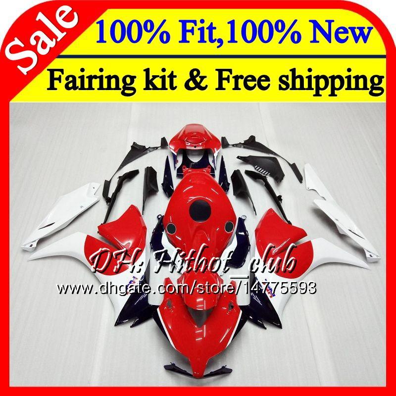 Injection For HONDA CBR1000RR 12 13 14 15 16 49HT9 CBR 1000RR 1000 RR CBR1000 RR Red white New 2012 2013 2014 2015 2016 Fairing Bodywork
