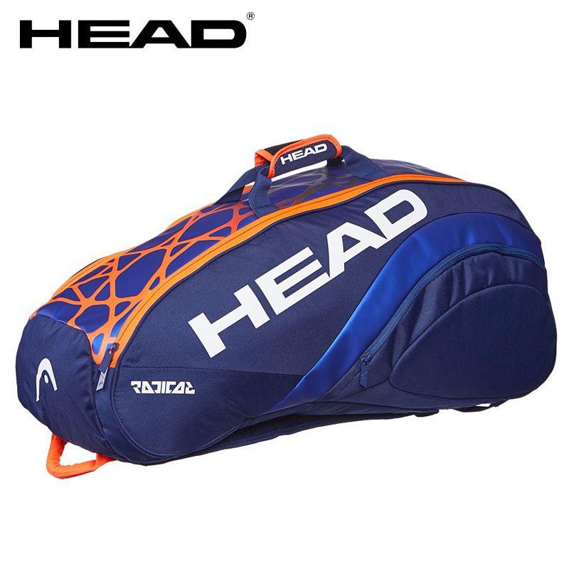 2466e2765 Compre Bolsa De Tenis Original HEAD De Estilo Murray Raqueta Deportiva  Mochila Deportiva Interior Para 6 9 Raquetas A $220.2 Del Kuyee | DHgate.Com