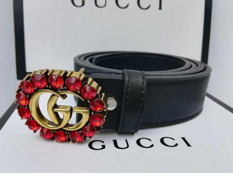 e08360cba9a65 2019 Hot Black Color High Quality Designer M0LV GUCCI Belts Fashion ...