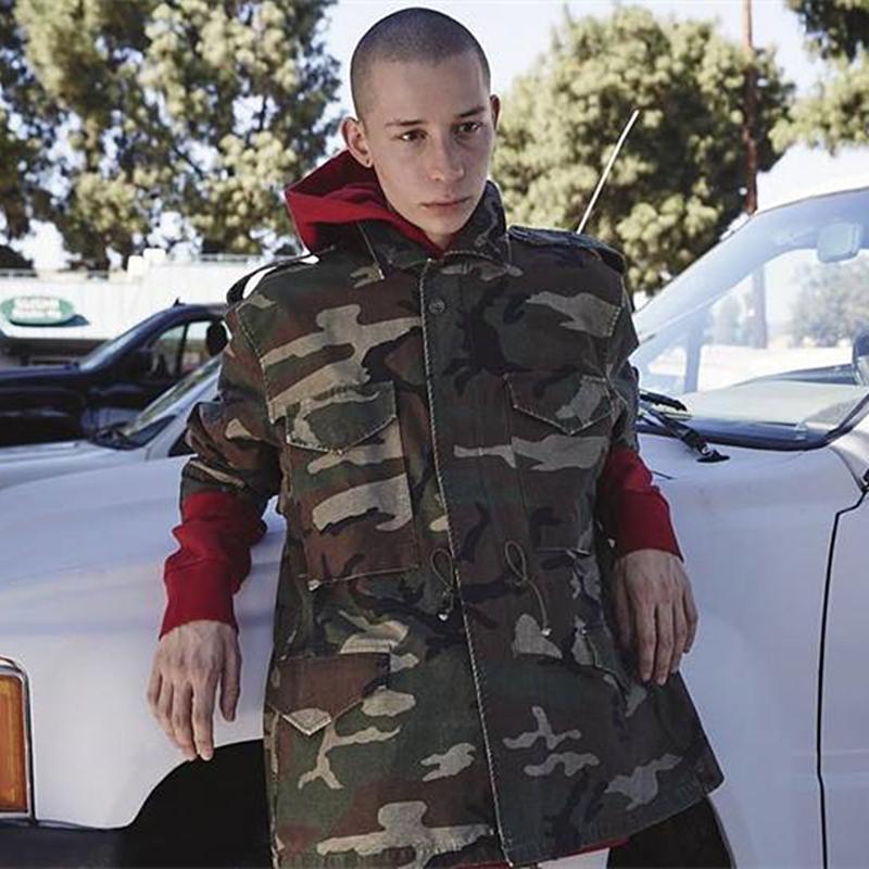 5a28673a4c967e Justin Bieber Purpose Tour Camo Army Jackets Canvas Multi Pocket Safari  Punk Rocky Kanye West Pablo Oversize Coat Men Dropshippi Denim Sheepskin  Jacket ...