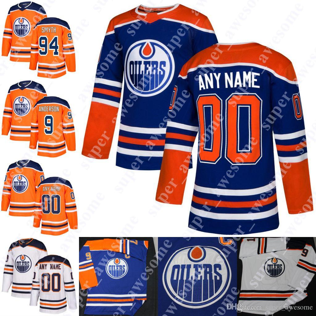 online retailer d5b3d c734a Edmonton Oilers Jersey 99 Wayne Gretzky 17 Jari Kurri 11 Mark Messier 9  Glenn Anderson 7 Paul Coffey 94 Ryan Smyth