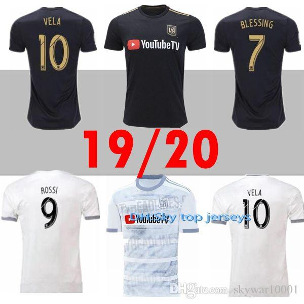 0c16951c5 MLS 2019 LAFC Soccer Jersey Home Away Los Angeles FC ROSSI VELA DIO ...