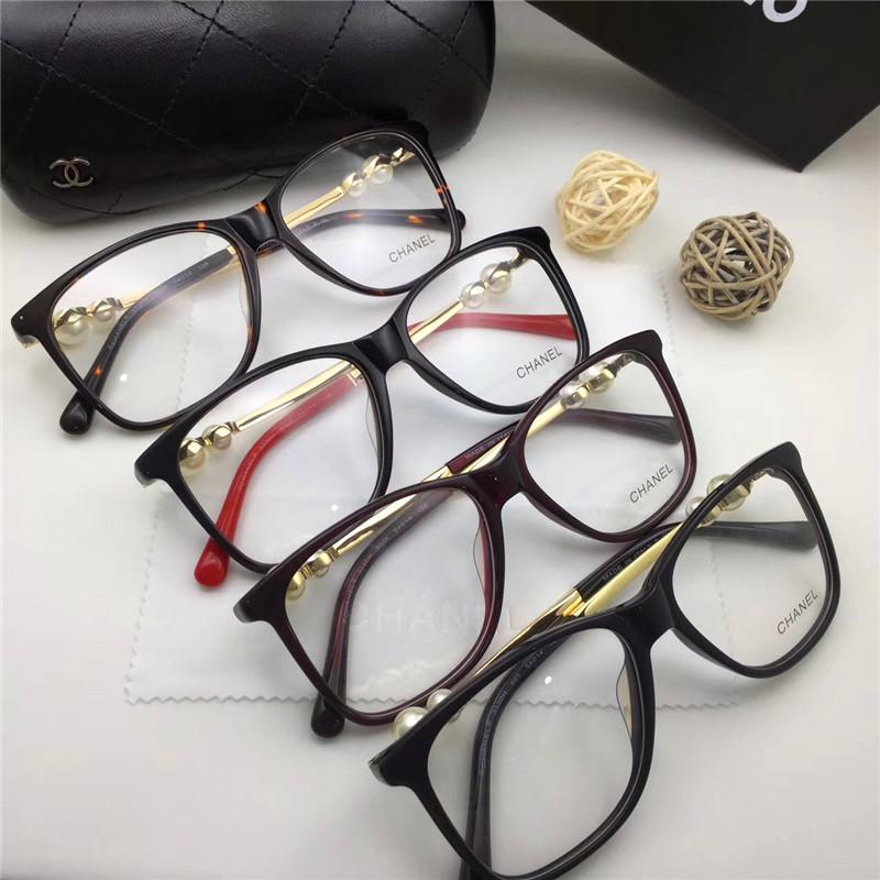 f4126a18936 2019 Luxury New Brand Glasses 3330 Prescription Eyewear Pearl Series Frame  Women Brand Designer Fashion Style Square Frame Brand Optical From Gounian