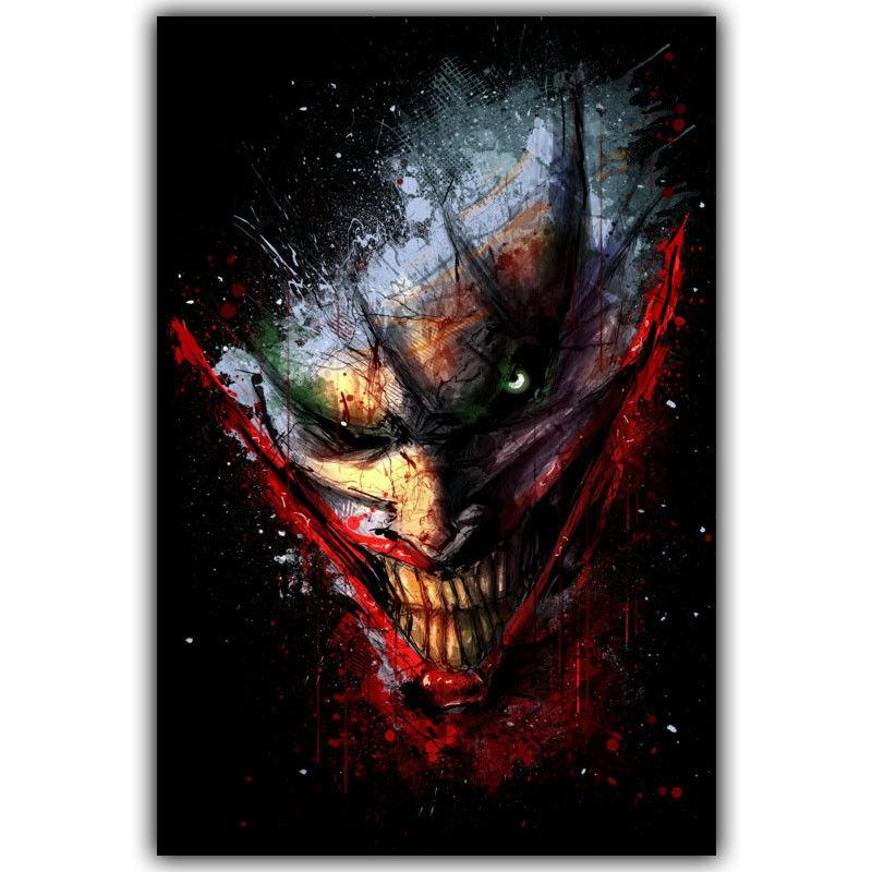 5ac7f03c1425 2019 Joker Batman Movie Art Silk Print Poster 24x36inch60x90cm 154 From  Chuy8988