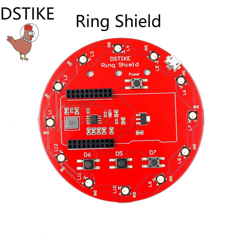 Ring Shield for D-duino,D-duino-B,D-duino-32,NodeMCU-07 ws2812b 18650  battery charger Li-battery charger