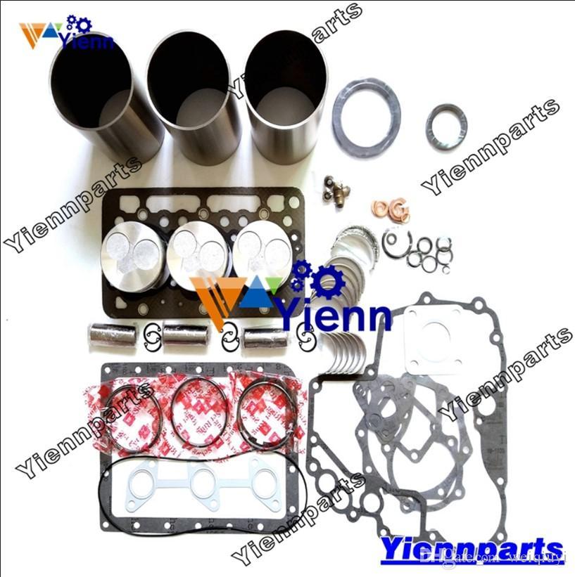 D902 overhaul Rebuild Kit for Kubota diesel engine cylinder liner piston  with ring bearing full gasket kit