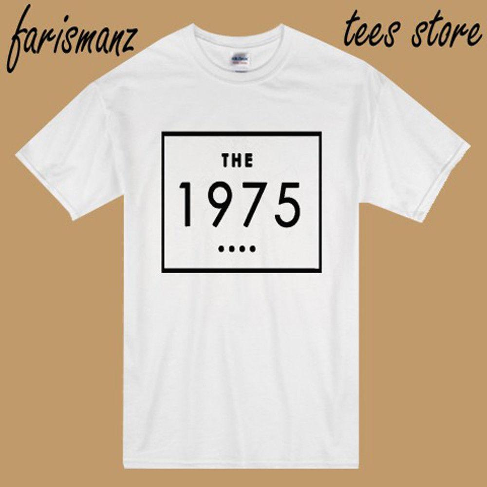 e38b96f32 New The 1975 Alternative Rock Band Logo Men'S White T Shirt Size S 3XLMen  Women Unisex Fashion Tshirt Humor T Shirts Funky T Shirt From  Besttshirts201809, ...