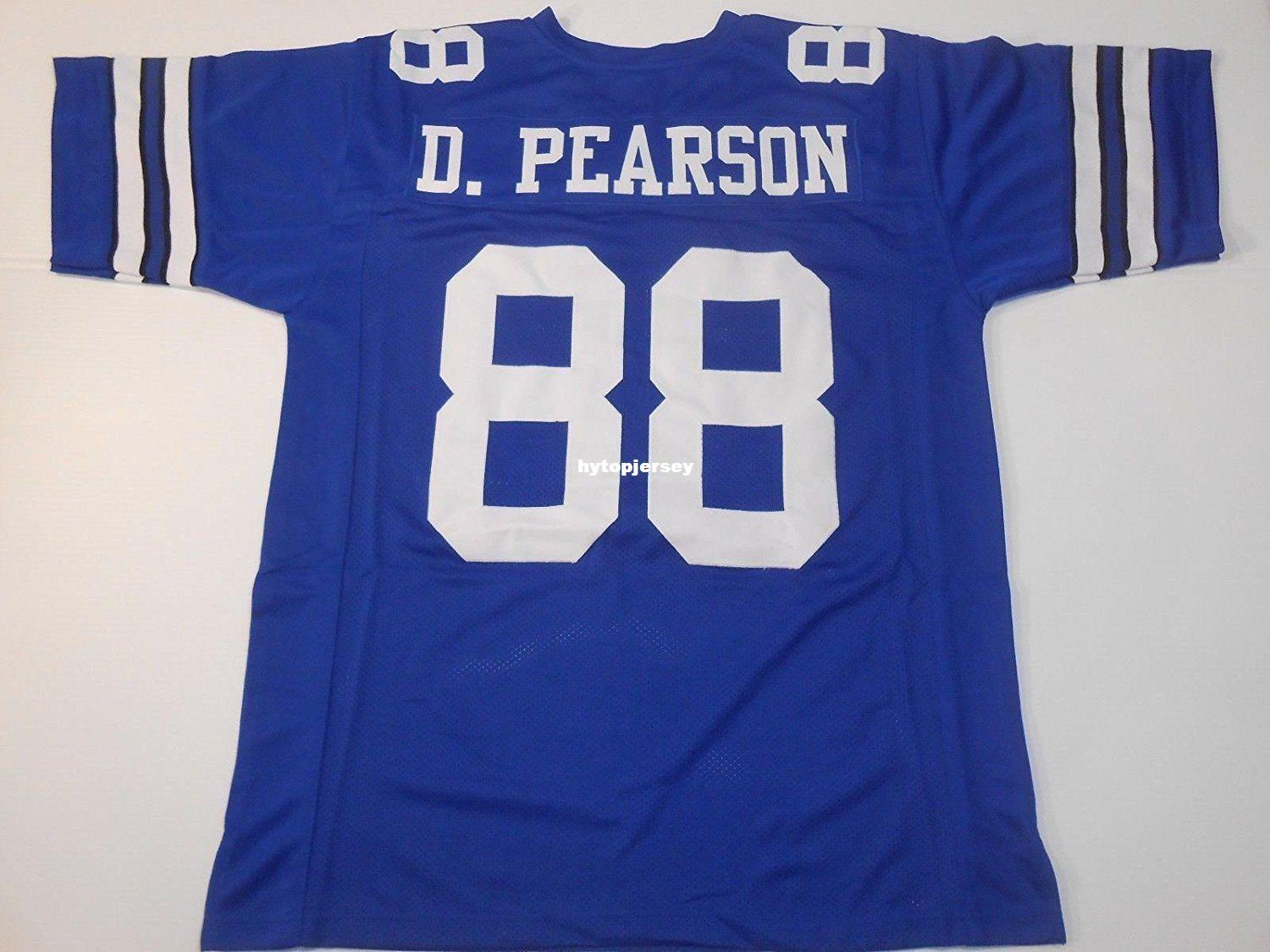 8185e4563cd 2019 Cheap Retro Custom Sewn Stitched #88 Drew Pearson Old Style Blue  MITCHELL & NESS Jersey High End Men'S Football Jerseys College NCAA From  Hytopjersey, ...