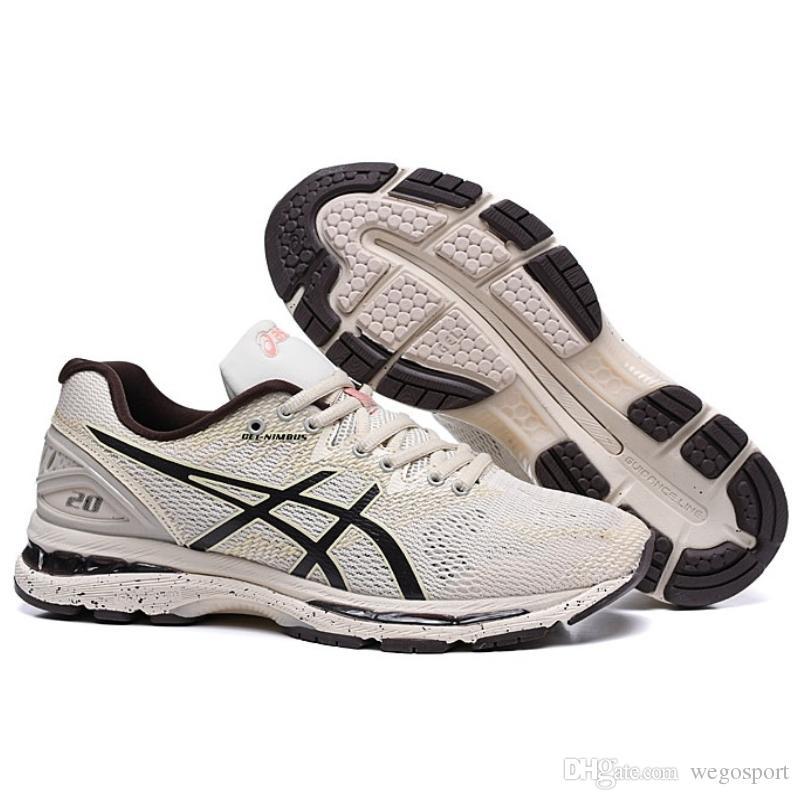 1a69fb1f4732a Compre 2019 Asics Gel Nimbus 20 Sakura Sp Homens Tênis De Corrida T804n  Tênis De Qualidade Superior Designer De Calçados Esportivos Tamanho 40 45  De ...