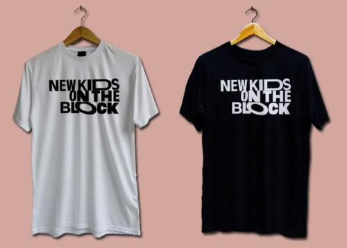 New NEW KIDS ON THE BLOCK NKOTB Boy Black And White T-shirt Shirts TEE XS-3XL Funny free shipping Unisex