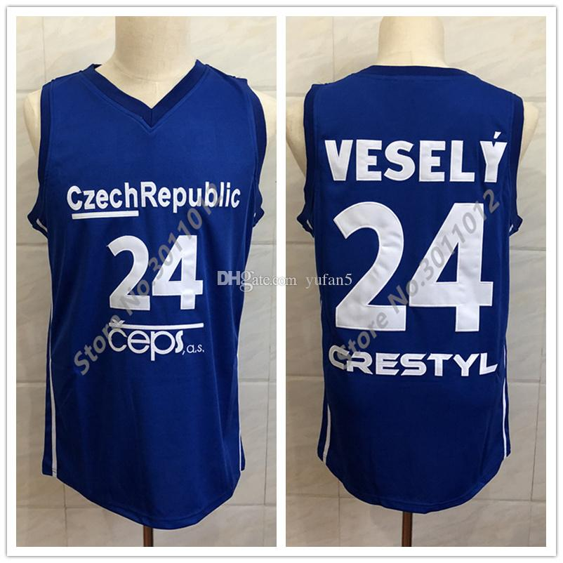 2019  24 JAN VESELY CZECH REPUBLIC 2014 WORLD CHAMPIONSHIP Retro Classic  Basketball Jersey Mens Stitched Custom Number And Name Jerseys From Yufan5 48afe7afe