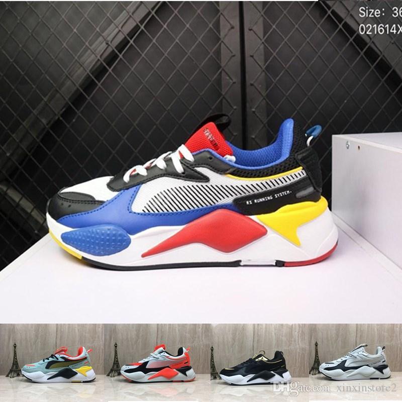 bceaad2ac3 Acheter Puma Hommes Hasbro Transformers RS X Baskets Pour Chaussures De Course  À Pied Pour Hommes, Hommes De $127.64 Du Xinxinstore2 | DHgate.Com