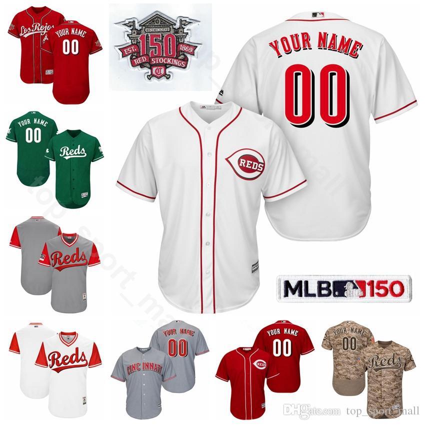aa7d573f05 2019 Cincinnati Baseball Reds 14 Pete Rose Jersey 5 Johnny Bench 30 Ken  Griffey Jr. 20 Frank Robinson Barry Larkin Joe Morgan Custom Name From  Vip_sport, ...