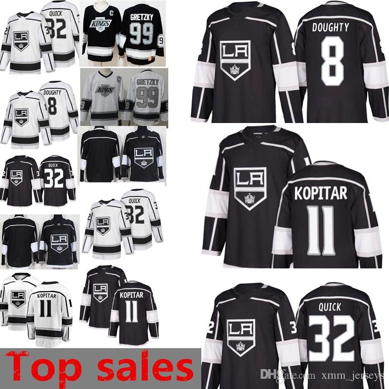 644a1beee7f 8 Drew Doughty Jersey New Los Angeles Kings 32 Jonathan Quick 11 ...