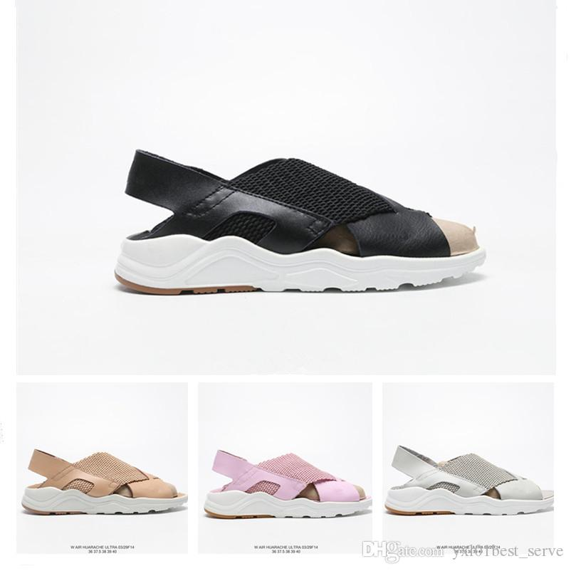 2a0a6cfbbfbf 2019 New Huarache Ultra Beach Sandal Korean Beach Style Sandals For ...