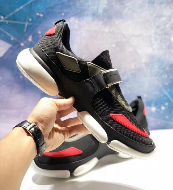 2018 Italy Designer Fashion luxury Men Casual Shoes Scarpe da ginnastica Cloudbust Scarpe in pelle e tessuto di alta qualità