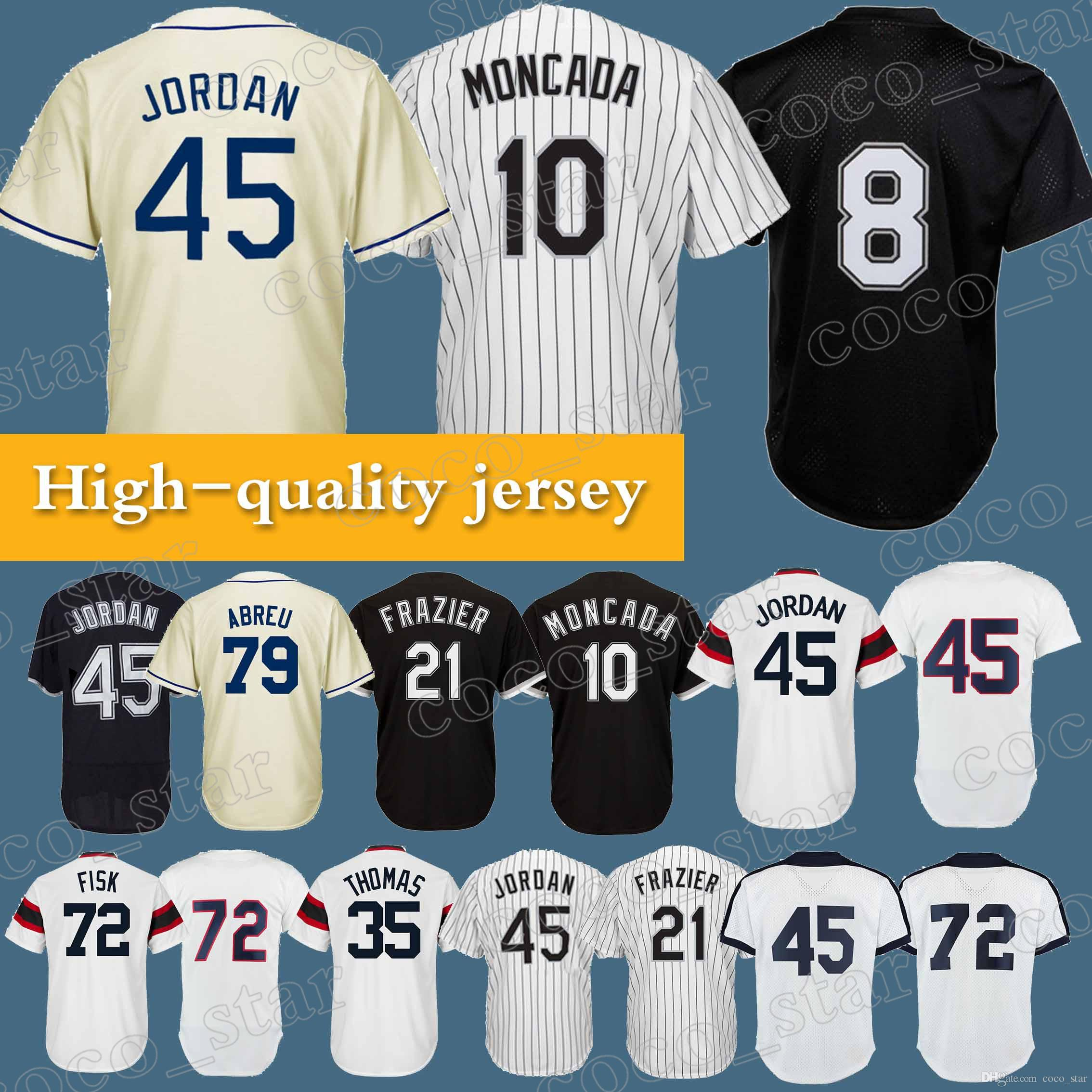 97256fca ... coupon code for 2018 chicago white sox jerseys 8 bo jackson 10 yoan  moncada 21 todd