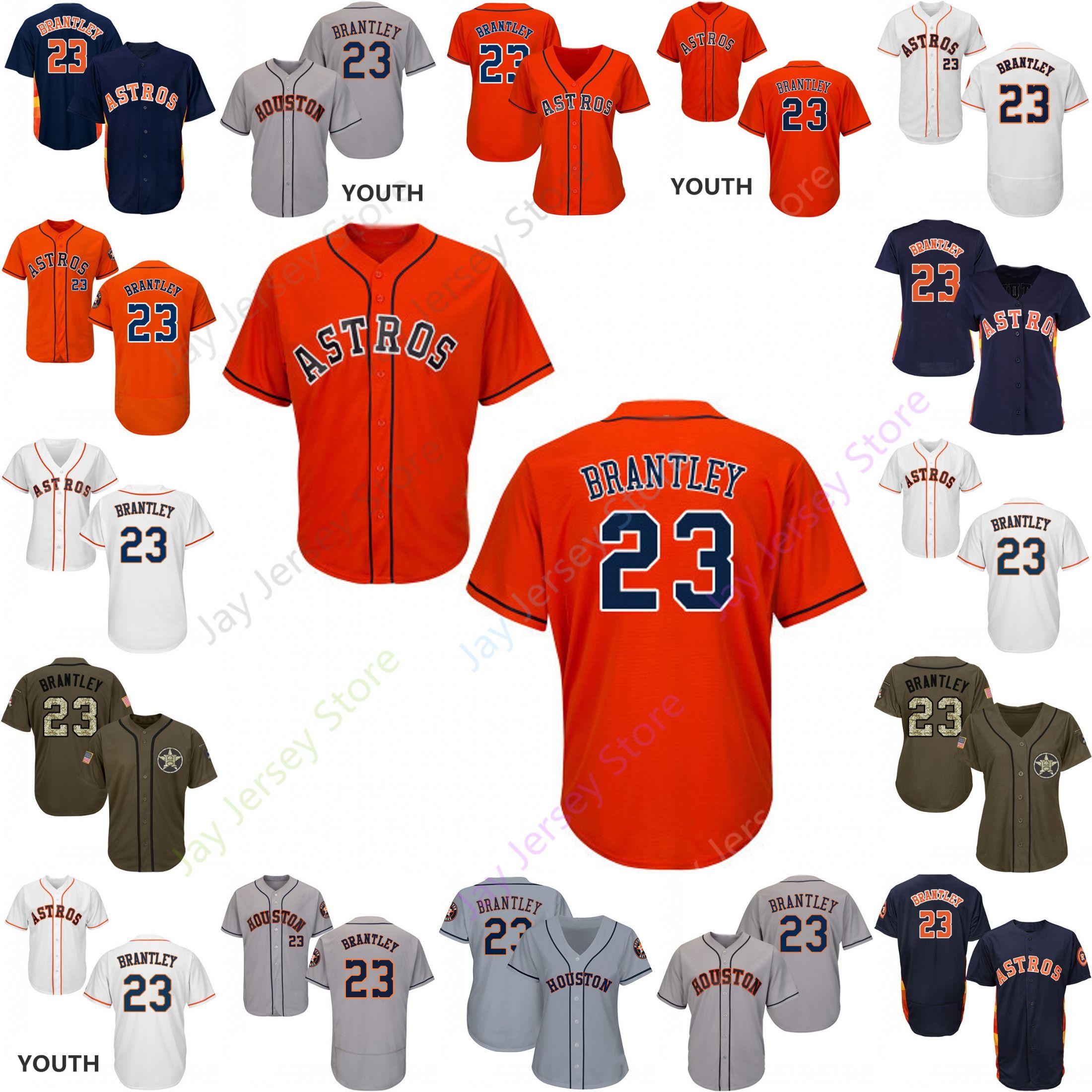 556df4c6c 2019 2019 Houston 23 Michael Brantley Jersey Astros Jerseys Cool ...